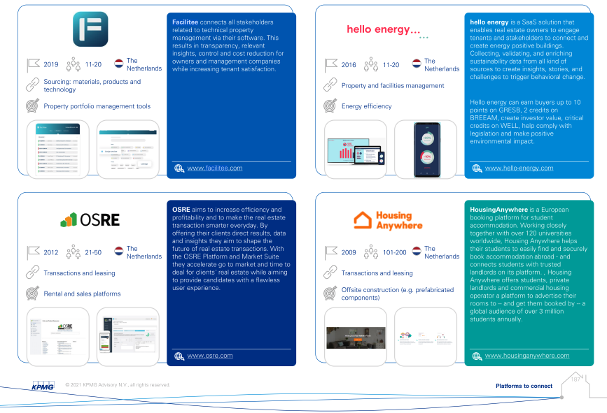 Facilitee in KPMG Overview